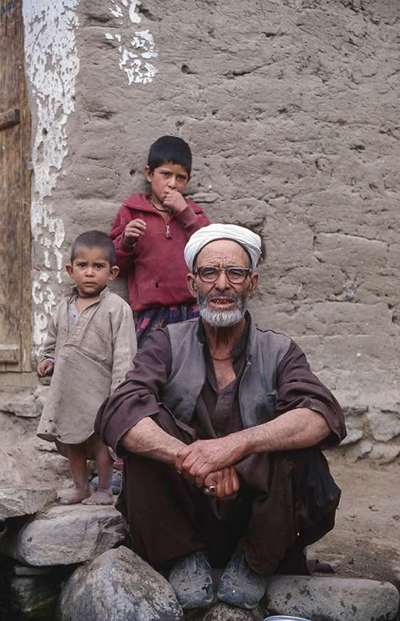 Old man, Askole, Karakoram Mountains