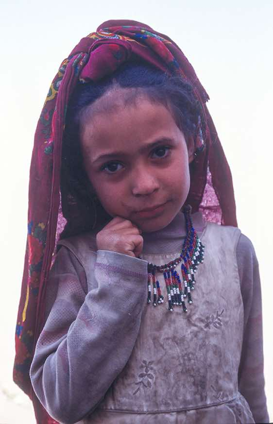 Young Girl, Jebel Rugab, Bura mountains